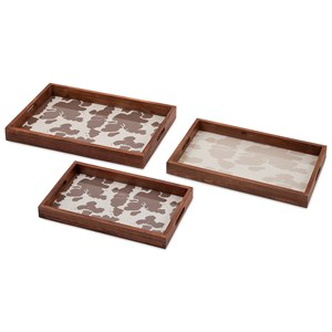 IMAX Worldwide Home Trisha Yearwood Cowboy Trays - Set of 3