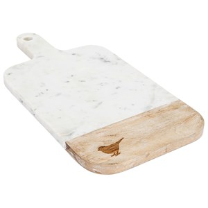 IMAX Worldwide Home Trisha Yearwood Songbird Marble Cutting Board