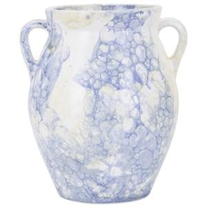 IMAX Worldwide Home Vases Watercolor Medium Blue Vase