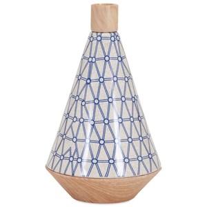 IMAX Worldwide Home Vases Ripley Wide Vase