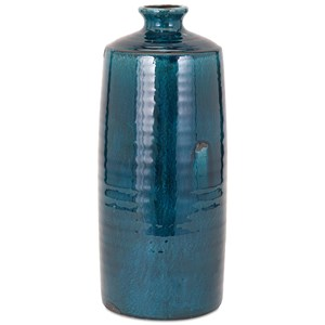 IMAX Worldwide Home Vases Arlo Large Blue Vase