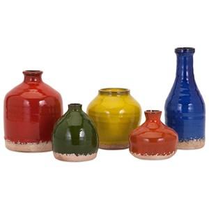 IMAX Worldwide Home Vases Cameron Mini Vase - Set of 5