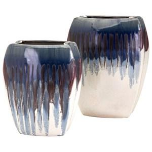 IMAX Worldwide Home Vases Hamako Large Ceramic Vase