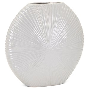 IMAX Worldwide Home Vases Ferrant Short Ceramic Vase