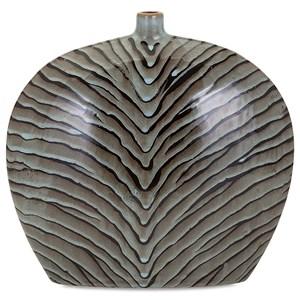 IMAX Worldwide Home Vases Inka Short Ceramic Vase