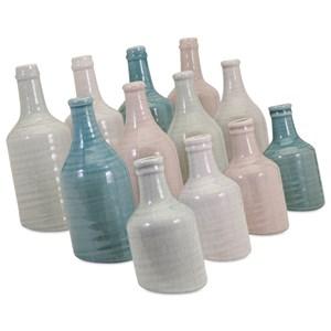 IMAX Worldwide Home Vases Sadler Mini Vases - Set of 12