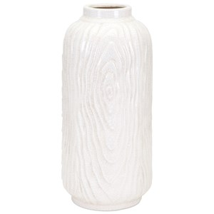 IMAX Worldwide Home Vases Woodgrain Large Vase