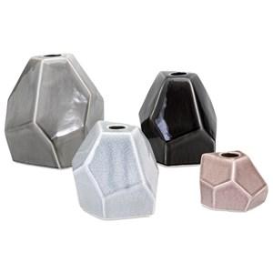 IMAX Worldwide Home Vases Lox Vases - Set of 4