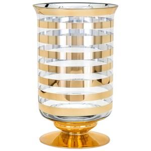 IMAX Worldwide Home Vases Natalie Tall Glass Vase