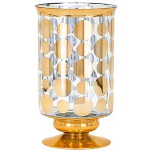 IMAX Worldwide Home Vases Natalie Short Glass Vase