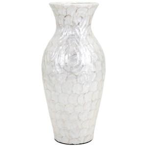 IMAX Worldwide Home Vases Kalui Capiz Shell Oversized Floor Vase