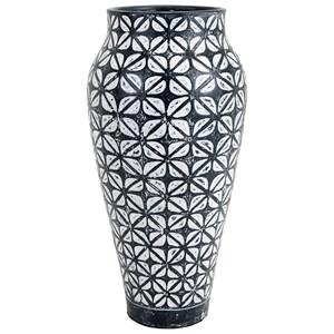 IMAX Worldwide Home Vases Geo Oversized Floor Vase