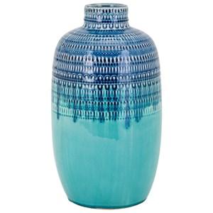 IMAX Worldwide Home Vases Gable Small Ceramic Vase