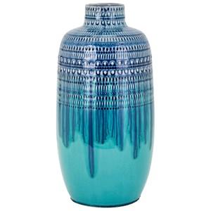 IMAX Worldwide Home Vases Gable Large Ceramic Vase