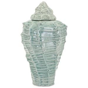 IMAX Worldwide Home Vases Sandcastle Small Shell Vase