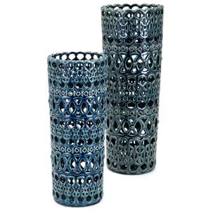 IMAX Worldwide Home Vases Hadwin Large Ceramic Vase