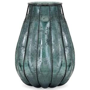 IMAX Worldwide Home Vases Tangela Recycled Glass Vase