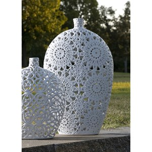 IMAX Worldwide Home Vases Lacey Large Vase