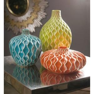 IMAX Worldwide Home Vases Agatha Ceramic Vases - Set of 3
