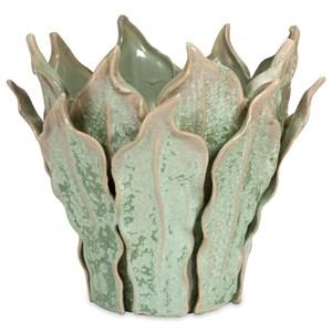 IMAX Worldwide Home Vases Watkins Small Sea Leaf Vase
