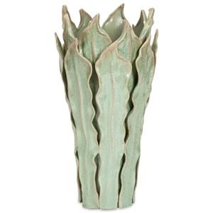 IMAX Worldwide Home Vases Watkins Large Sea Leaf Vase