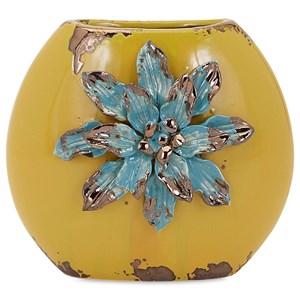 IMAX Worldwide Home Vases Kimber Short Flower Vase
