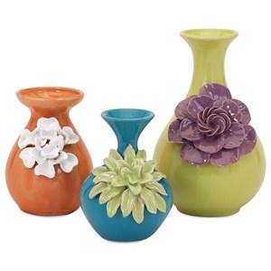 IMAX Worldwide Home Vases Baylee Mini Vases - Set of 3