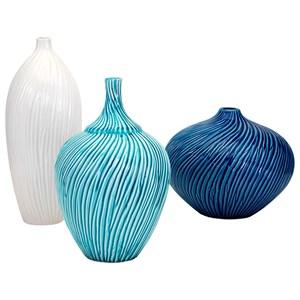 IMAX Worldwide Home Vases Reanna Vases - Set of 3
