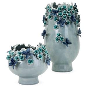 IMAX Worldwide Home Vases Jaiden Butterfly Vase