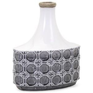 IMAX Worldwide Home Vases Bianca Short Vase