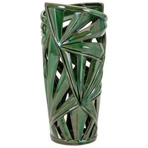 IMAX Worldwide Home Vases Palmetto Small Vase