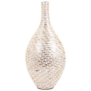 IMAX Worldwide Home Vases Pisces Large Shell Vase