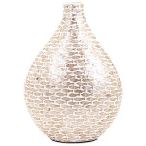 IMAX Worldwide Home Vases Pisces Small Shell Vase
