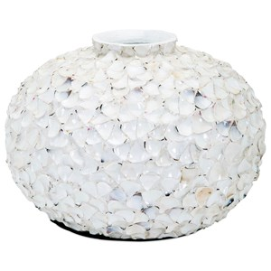 IMAX Worldwide Home Vases Dominica Shell Vase