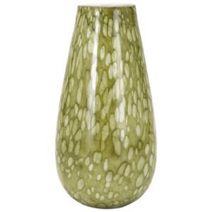 IMAX Worldwide Home Vases Craveat Glass Vase