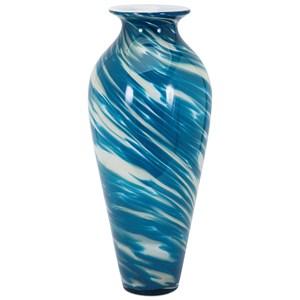 IMAX Worldwide Home Vases Blair Glass Vase