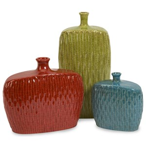 IMAX Worldwide Home Vases Herrera Vases - Set of 3