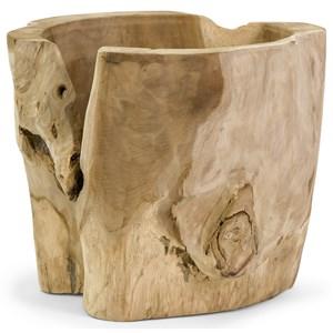 IMAX Worldwide Home Vases Macaque Teakwood Vase