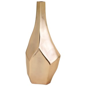 IMAX Worldwide Home Vases Sienna Large Gold Vase