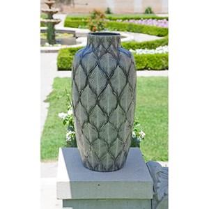 IMAX Worldwide Home Vases Feathered Oversize Vase