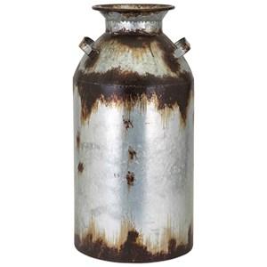 IMAX Worldwide Home Vases Crocket Large Metal Vase