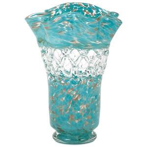 IMAX Worldwide Home Vases Ithaca Web Glass Vase
