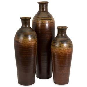 IMAX Worldwide Home Vases Benito Vases - Set of 3