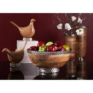 IMAX Worldwide Home Vases Mango Wood Large Vase