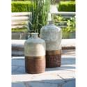 IMAX Worldwide Home Vases Sabah Large Terracotta Vase - Item Number: 73401
