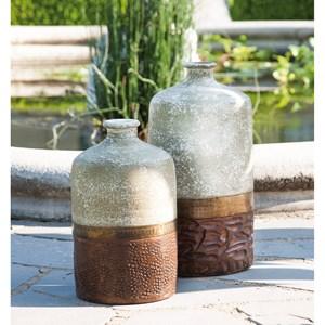 IMAX Worldwide Home Vases Sabah Small Terracotta Vase