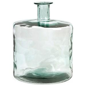IMAX Worldwide Home Vases Vettriano Short Recycled Glass Vase