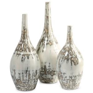 IMAX Worldwide Home Vases Hampton Mexican Pottery Vases - Set of 3