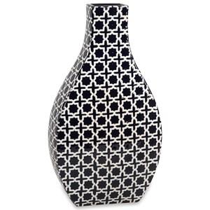 IMAX Worldwide Home Vases Layla Large Pattern Vase