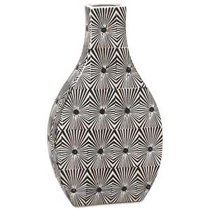 IMAX Worldwide Home Vases Reagan Small Pattern Vase